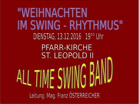 swing rhythmus pfarrverband st leopold st josef