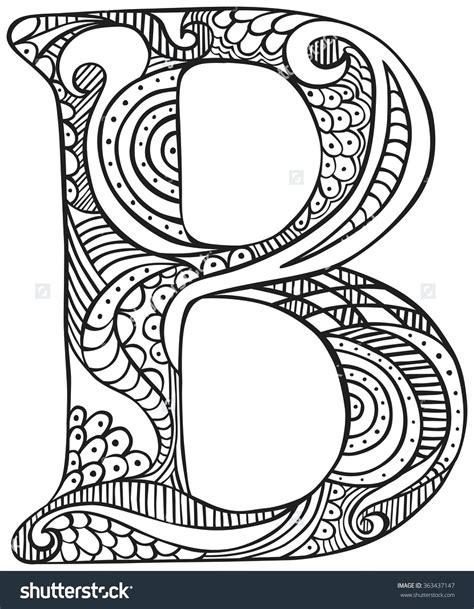 Coloring Page Letter B by Letter B Coloring Pages Coloring For 2018