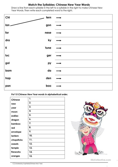 new year activity new year activity worksheet free esl printable