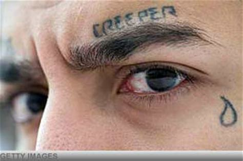 tattoo meaning tear under eye 7 most notorious prison tattoos what they mean realclear