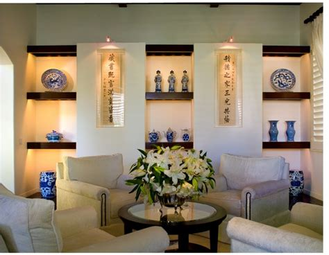 Displaying art collections contemporary living room los angeles