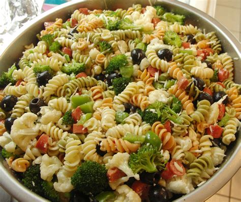 salad with pasta fat free vegan pasta salad recipe