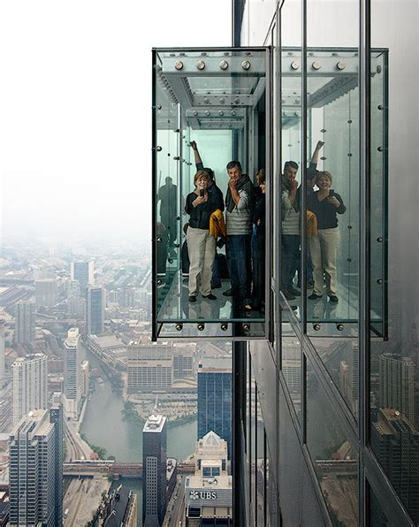 How Many Floors Is The Willis Tower by Skydeck On 103rd Floor Of Chicago S Willis Tower Shatters