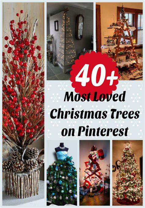 pinterest christmas 40 most loved christmas tree decorating ideas on pinterest