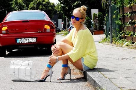 Furla White Combi Sale tuesday to go neon sweater with shorts
