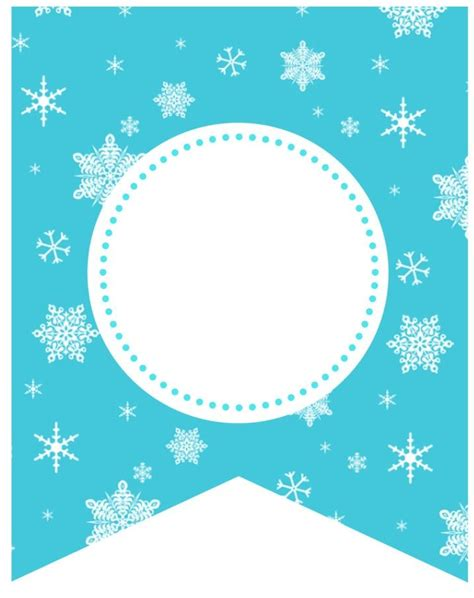 printable frozen garland 17 best images about banners and pennants on pinterest