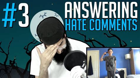 Answering Your Comments by Exposing The Haters Answering Comments 3