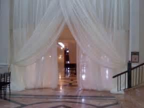wedding wall draping wedding drapes panels 12 x114 quot white ivory black