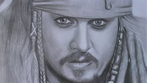 how to draw jack sparrow easy step by step characters pop culture amazing drawing captain jack sparrow youtube