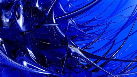 Blue Glass hd blue glass spikes wallpaper free 150115