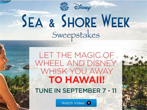 Wheel Of Fortune Sweepstakes 2015 - the wheel of fortune disney sea shore sweepstakes sweepstakes fanatics