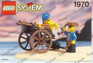 Lego Original Pirate Gun lego 1970 pirate s gun cart set parts inventory and lego reference guide