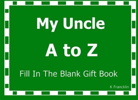 the nothing book my fill in the blanks world books my a to z fill in the blank gift book a to z gift