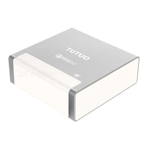 Charger 40w Fast Charging 4 Usb Port A2142621 Olb1792 tutuo 40w 4 ports usb charger charge 3 0 fast charger desktop charger high speed power
