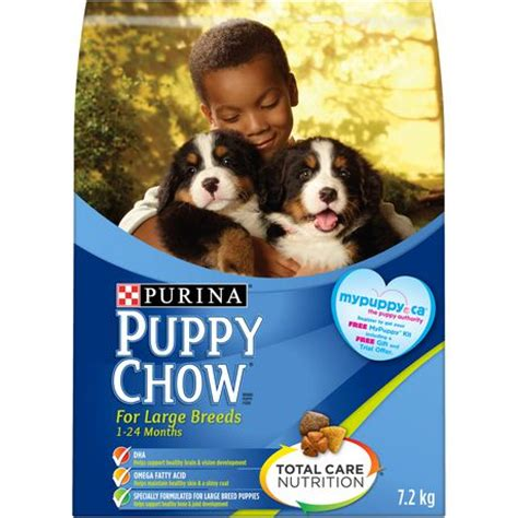 best puppy food at walmart purina puppy chow 174 optimal start for large breed puppies food walmart ca