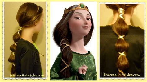 how to do queen hairstyles disney s brave hairstyle queen elinor halloween