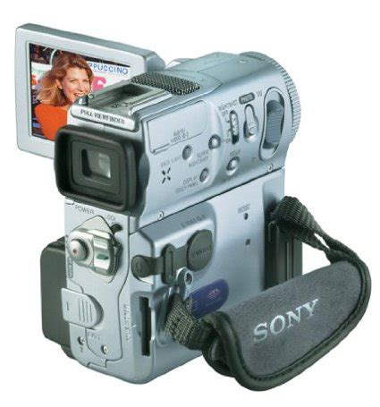 camcorders sony handycam dcr pc9e camcorder mini dv tape