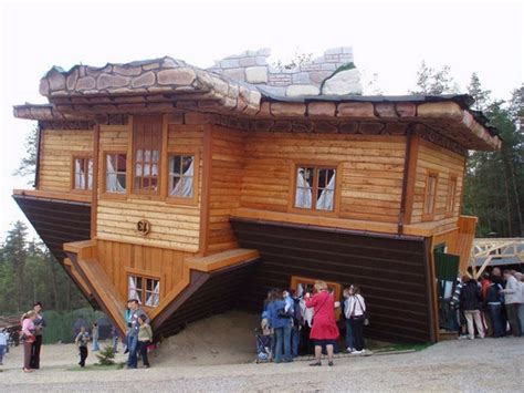 upside down house poland 17 unique upside down houses spicytec