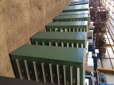 used stanley vidmar cabinet closeout