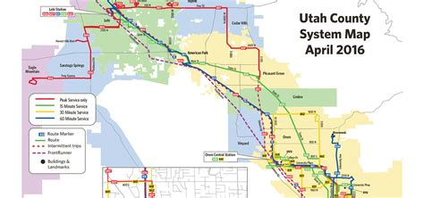 uta cus map schedules and maps