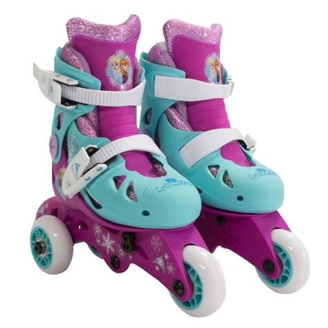 Play Roller Skates playwheels disney frozen glitter convertible 2 in 1