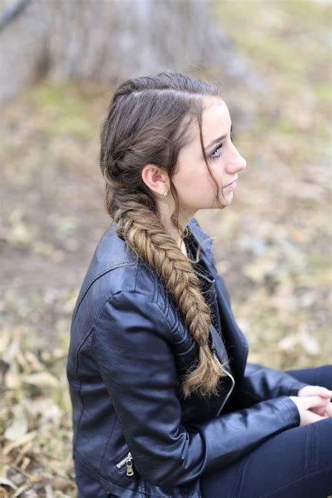 Katniss Everdeen Hairstyles by Katniss Mockingjay Braid Hunger Hairstyles