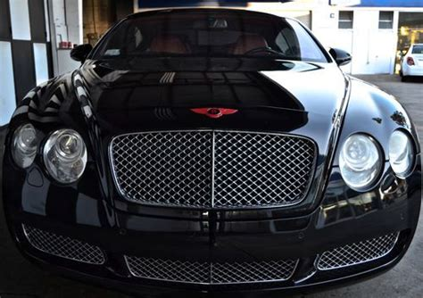 bentley black and red purchase used 2005 bentley continental gt coupe 2 door 6