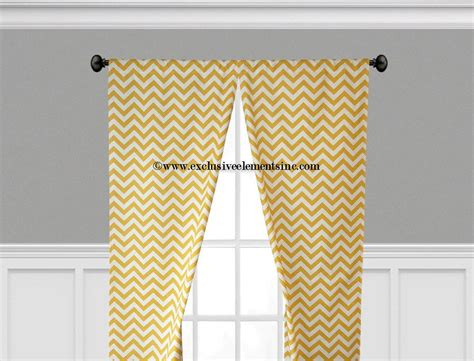 chevron yellow curtains yellow curtains zig zag chevron curtain panels living room