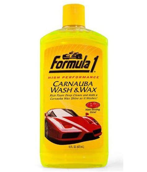 formula 1 carnauba wash wax car shoo 473 ml buy
