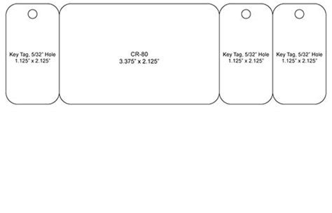 key card template able card