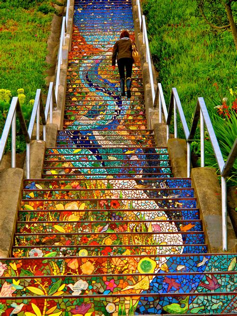 stairs beautiful 16 of the most colorful steps around the world