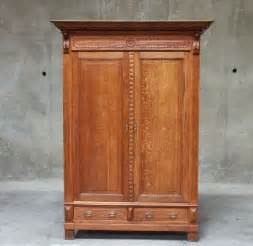 Rustic Wardrobe Closet by Antique Clarks Mile End Spool Cotton Large 6 Drawer Oak Sewing Cabinet What S It Worth