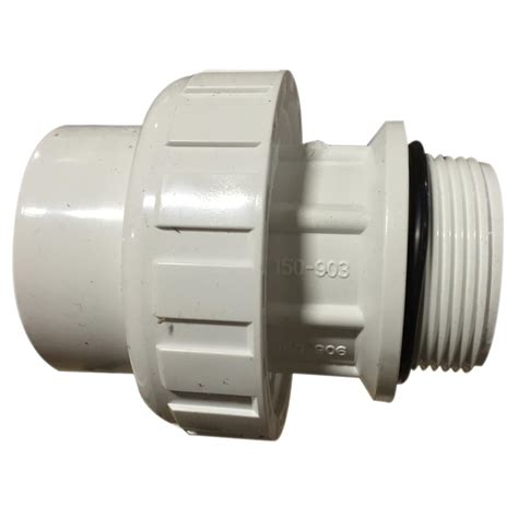 Vacuum Fitting Wall Fitting 1 5in Hitam 1 5 inch pvc union skt mip with o ring pool supplies canada