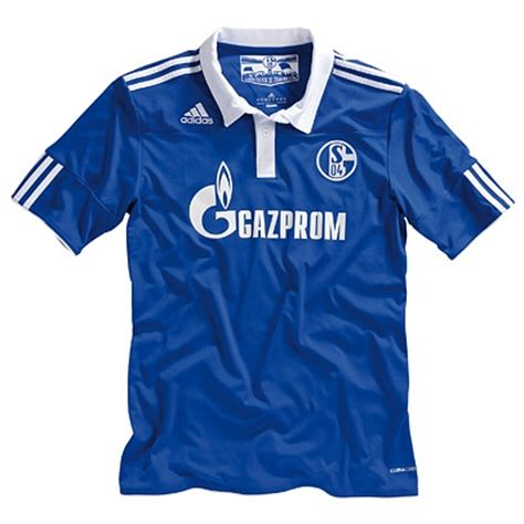 Jersey Schalke Home 201617 Official schalke home jersey 2010 11 football kit news new soccer jerseys