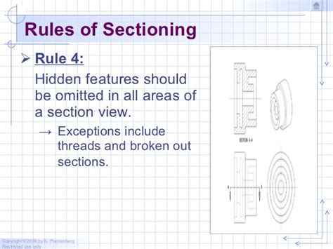 Drawing Section View Rules 28 Images Precious View 0f