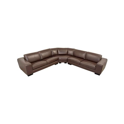 second hand sectional sofa second hand brown leather sofa bed centerfieldbar com