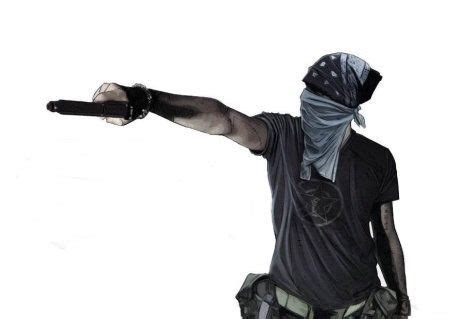 why do some people hold guns sideways? does it help