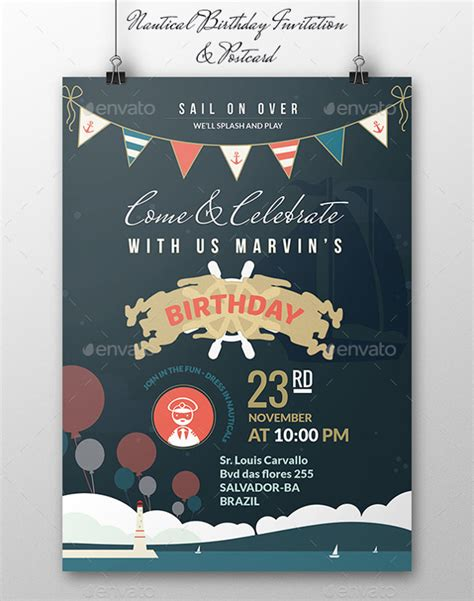 22 birthday invitation templates free sle exle