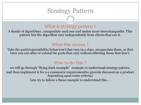 strategy pattern c video strategy pattern using c