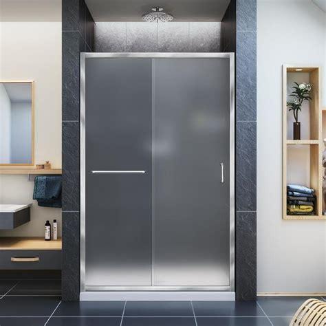 Shop Dreamline Infinity Z 44 In To 48 In Frameless Chrome Dreamline Frameless Shower Door