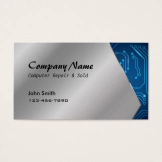 circuit board business card template electronic circuit board business cards templates zazzle
