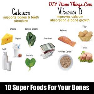 10 foods for your bones diy home things