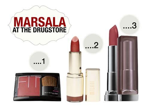 Moisturizing Lipstick Marsala Blush pantone s colour of 2015 marsala product roundup for skin nc35 nc45 mosesaly
