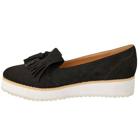 womens chunky loafers womens loafers flat shoes chunky cleated sole