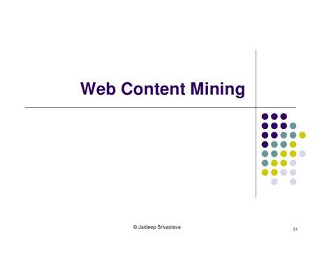 pattern extraction in web mining web mining tutorial