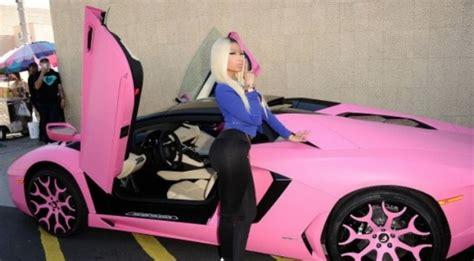 Pink Lamborghini Nicki Minaj What Your Car Color Says About You