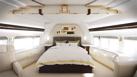 private jet with bed inside the most luxurious private jets business insider