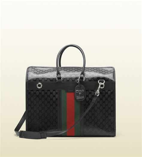 gucci carrier gucci carrier in black for lyst