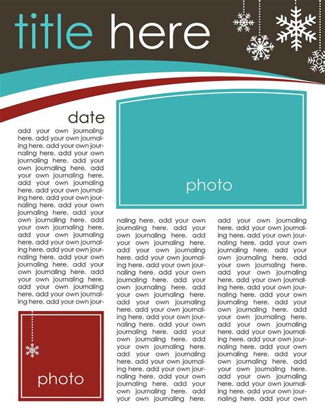 Newsletter Outline Template by 49 Free Letter Templates That You Ll