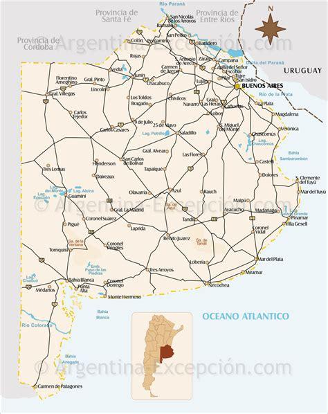 imagenes satelitales buenos aires mapa provincia de buenos aires